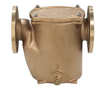 2003 - Bronze base mounted flanged water strainer 'GENOVA'