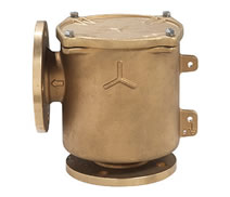 2004 - Bronze bracket mounted flanged water strainer 'VENEZIA'