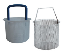 0076 - Strainer basket for 'GENOVA' base mounted water strainers
